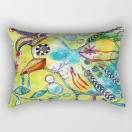 Early Bird Rectangular Pillow