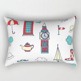 great britain pattern Rectangular Pillow