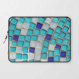Blue Tiles - an abstract photograph. Laptop Sleeve