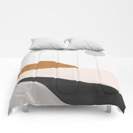 Minimal Art Landscape 3 Comforters
