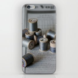 Grey Notions iPhone Skin