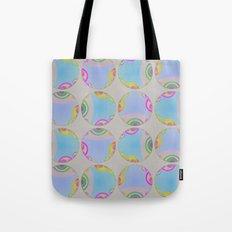 Graphic Bubble Tote Bag