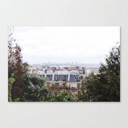 View from the Sacré-Cœur Canvas Print