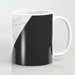 GOLDEN MARBLE TRIANGLE Coffee Mug