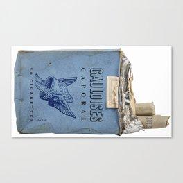 Gauloises 20 Cigarettes France Vintage Pack 1968 Canvas Print
