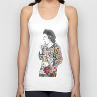 coconutwishes Tank Tops featuring Harry  sketch  by Coconut Wishes