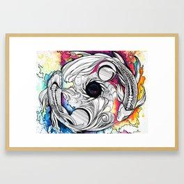 Pisces Dream Pool Framed Art Print