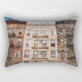 NoLita Architecture Rectangular Pillow
