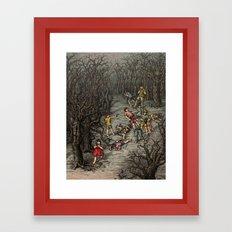 The girl Piper Framed Art Print