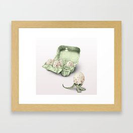 In which dinosaur eggs are hardly fit for human consumption  Framed Art Print