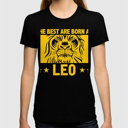 Best Are Born As Leo August Birthday T-shirt