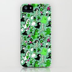 Alt Monster March (Green) Slim Case iPhone (5, 5s)