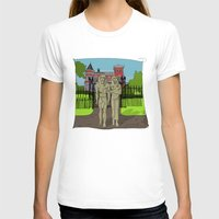 """broadway T-shirts featuring """"Tourists on Broadway"""" 2013 a.correia by correia creative"""
