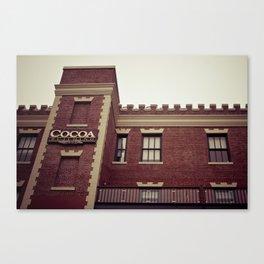 Cocoa Building @ Ghirardelli Square in San Fransisco Canvas Print