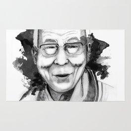 Belief & Knowledge (Dalai Lama) by carographic Rug