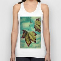 neverland Tank Tops featuring Fall in Neverland by Honey Malek
