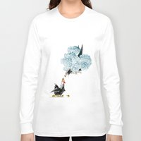 fight Long Sleeve T-shirts featuring Fight by TJ Zhang