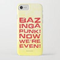 bazinga iPhone & iPod Cases featuring Bazinga! by Cloz000