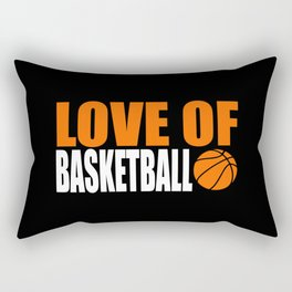 I LOVE BASKETBALL Rectangular Pillow