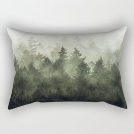 The Heart Of My Heart // Green Mountain Edit Rectangular Pillow