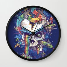 Strangely familiar Wall Clock