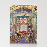 sleeping beauty Stationery Cards featuring Sleeping Beauty by Aimee Stewart