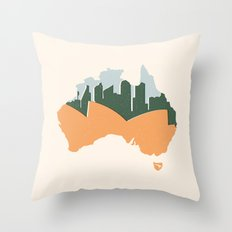 Sydney - Australia Throw Pillow