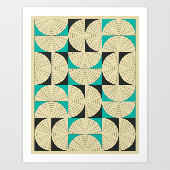 CONNECTIONS #8 Art Print