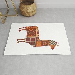 Llama Inca Textiles Gift For Llama Lover Rug