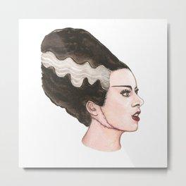 Bride Of Frankenstein Metal Print