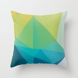 Darkocean No.1 Throw Pillow