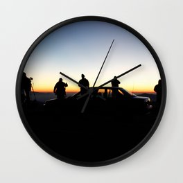 The Clingmen Wall Clock