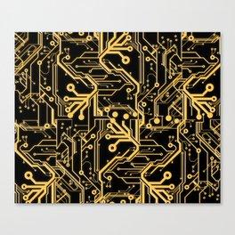 Techno Organic  Canvas Print