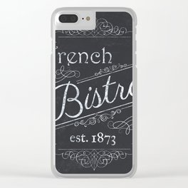 French Bistro 2 Clear iPhone Case