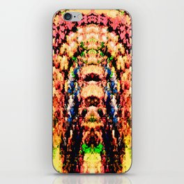 Colorful Abstract Ripples iPhone Skin
