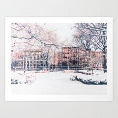 New York City - Winter Art Print