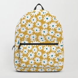 Daisies - Spring - Yellow Backpack