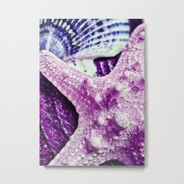 Sweet Little Pink Starfish Metal Print