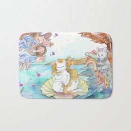 Birth of Puss Bath Mat