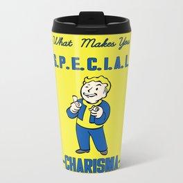 Charisma S.P.E.C.I.A.L. Fallout 4 Metal Travel Mug