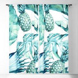Bahamas - aquamarine Blackout Curtain