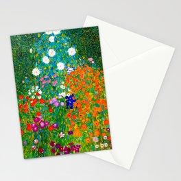 Gustav Klimt - Flower Garden Stationery Cards