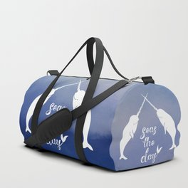 Narwhal Seas the Day Duffle Bag