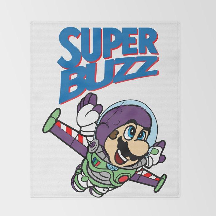 Super Buzz Lightyear Throw Blanket