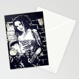 Vampires by Streetlight Stationery Cards