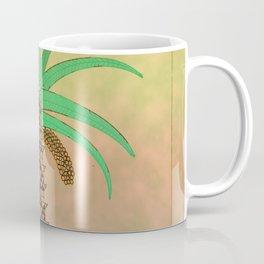 La Palmera Canaria o phoenix canariensis Coffee Mug
