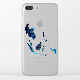 Southeast Asia Clear iPhone Case