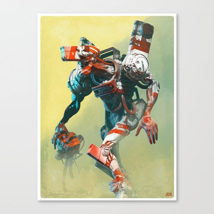 Robot X Robot Leinwanddruck