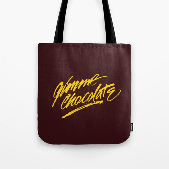 Gimme Chocolate Tote Bag