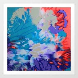 Aster Art Print